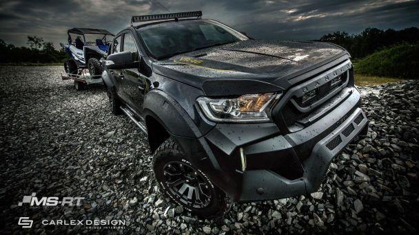 Тюнеры построили эксклюзивный пикап Ford Ranger