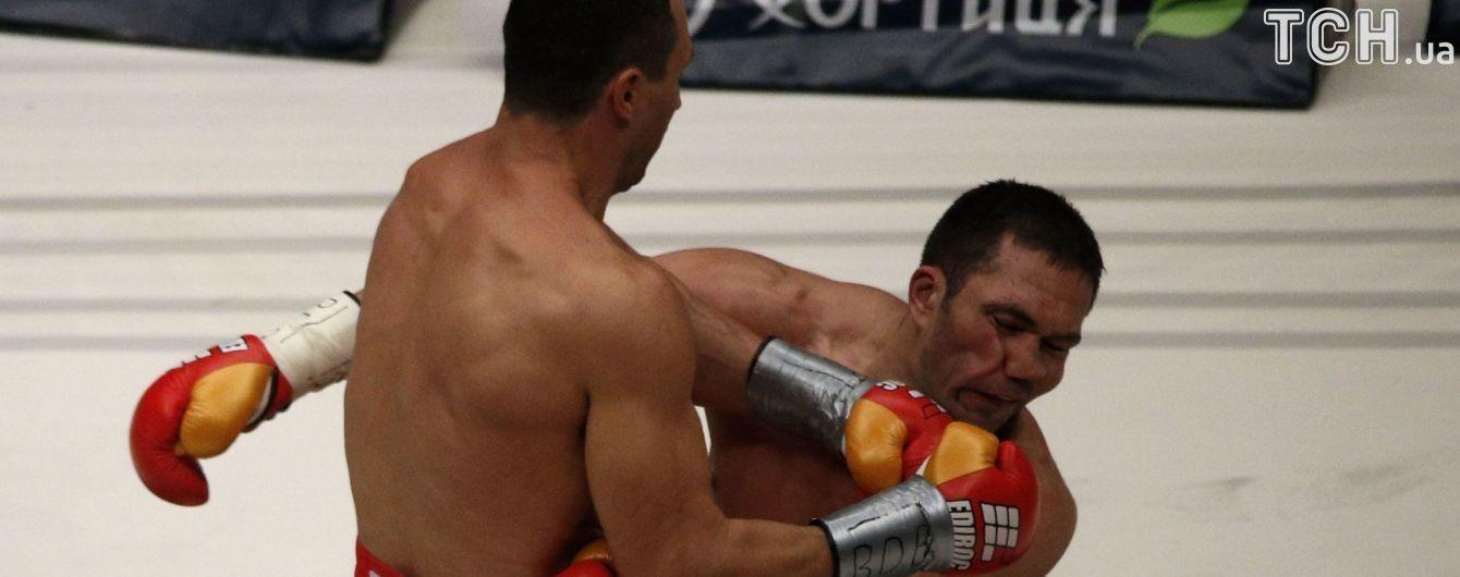 Лучшие нокауты Владимира Кличко: смотри видео за 21 год профессиональной боксерской карьеры