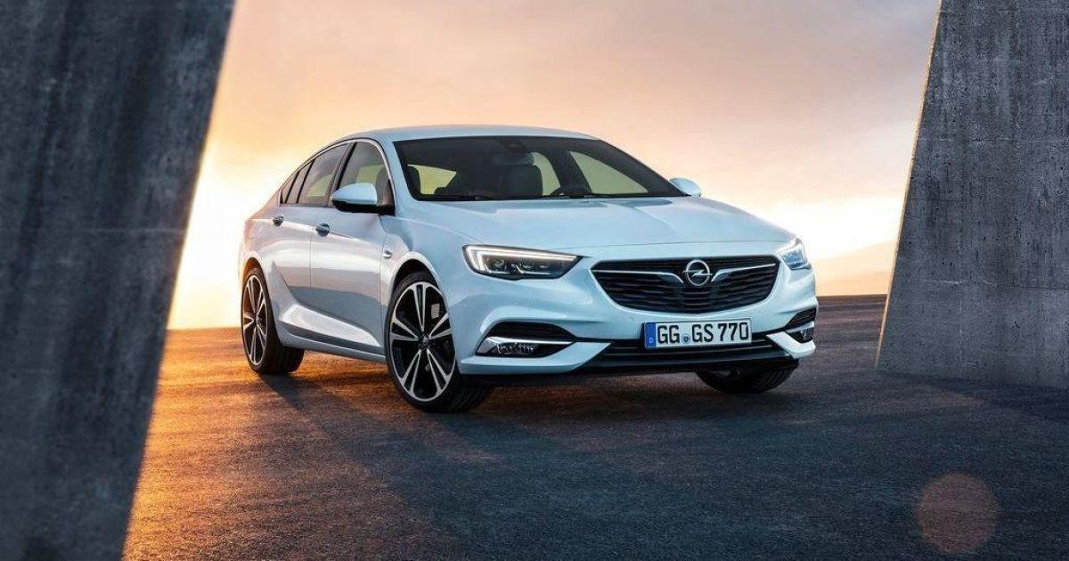 В Украине поступил в продажу Opel Insignia нового поколения