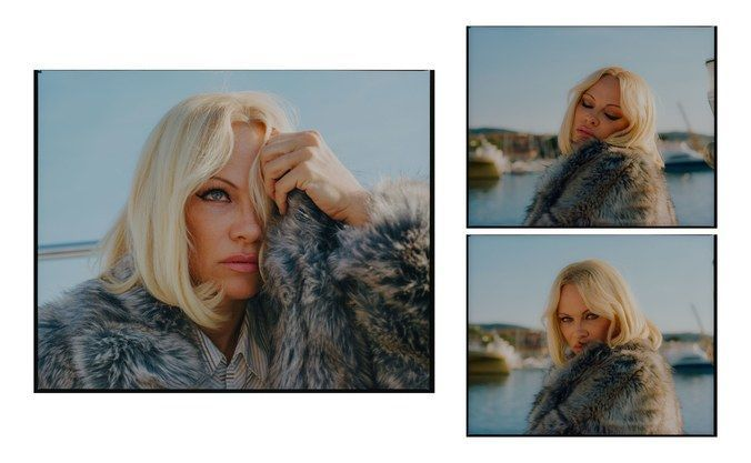 Памела Андерсон для w magazine_8