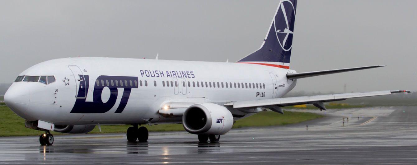 Польские авиалинии LOT открывают новый рейс из Львова