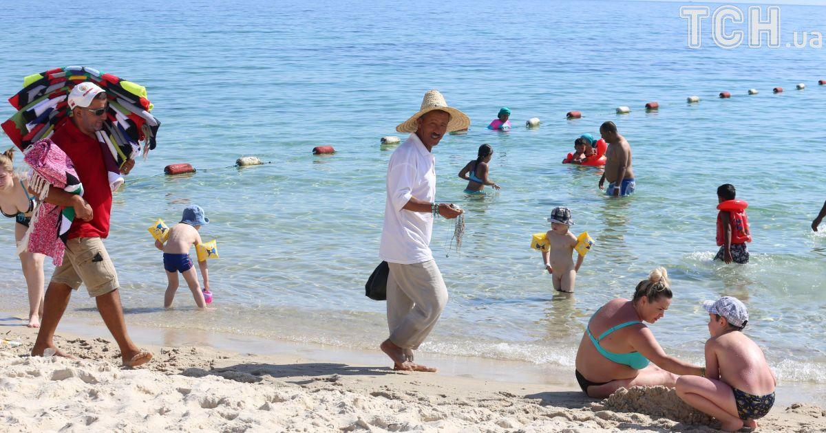 Пляжный отдых в городе Сус, Тунис.