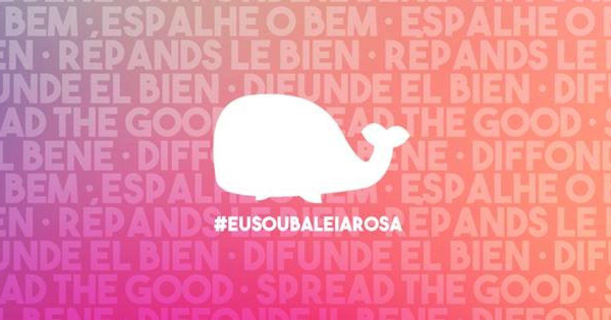 """""""Рожевий кит"""": юзери відповіли """"групам смерті"""" позитивною онлайн-грою"""