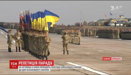 Вперше у військовому параді до Дня Незалежності візьмуть участь країни-партнери