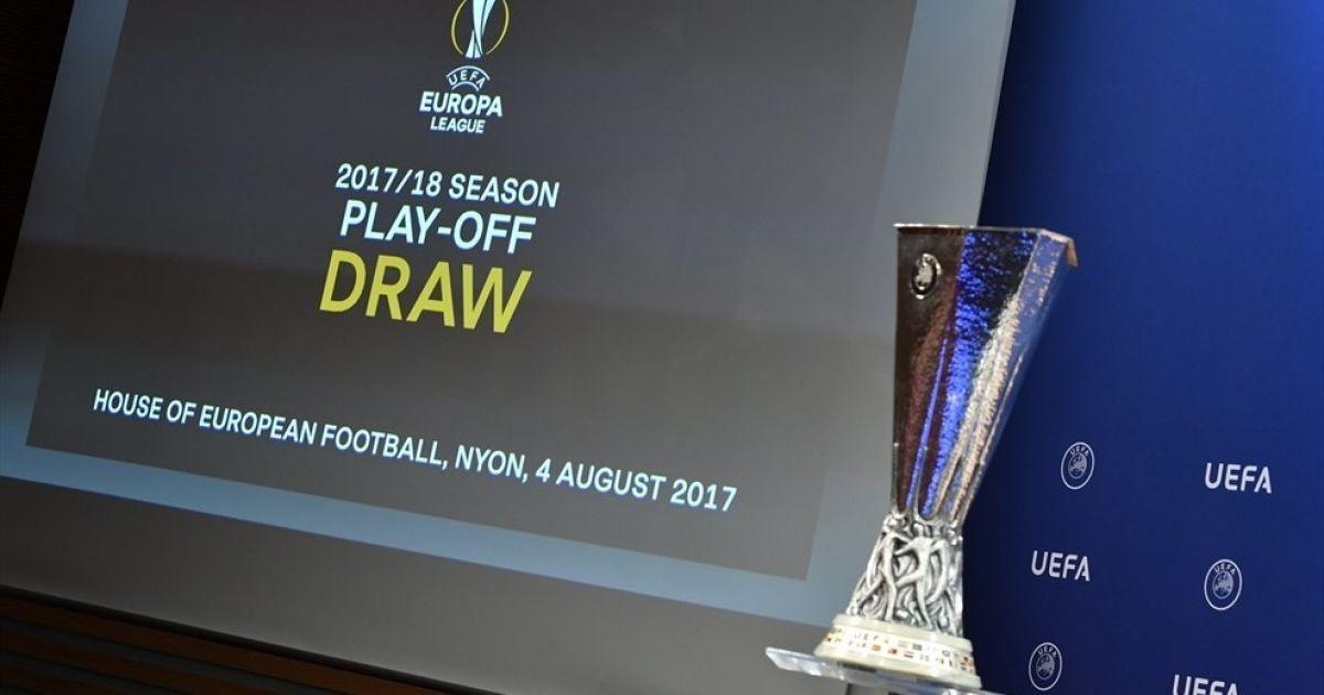 Результаты жеребьевки раунда плей-офф Лиги Европы 4e018784781
