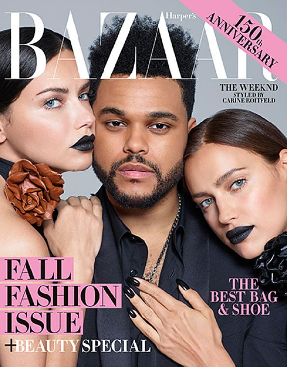 The Weeknd та моделі_2