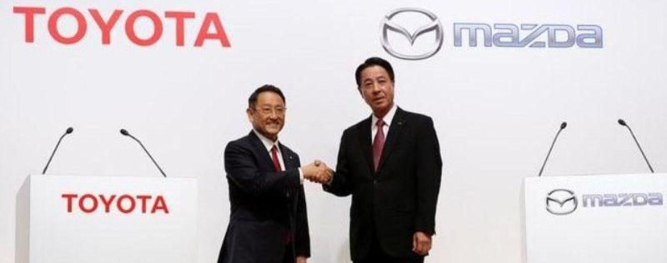Toyota и Mazda совместно займутся разработкой электрокаров