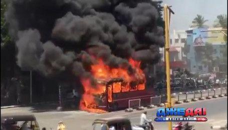 Маршрут индийского автобуса превратился в настоящую трагедию