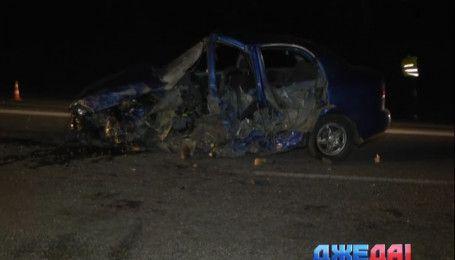 Водитель Lanos устроил масштабную аварию под Киевом