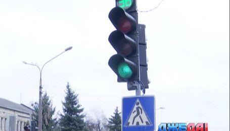 Светофоры, которые начали говорить в Павлограде