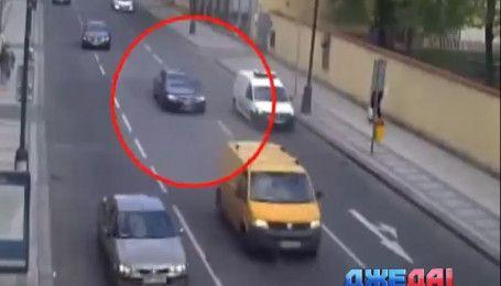 В Праге пьяный водитель устроил голливудскую погоню