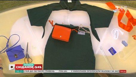 Стильна літня спідниця із футболки-поло: дорого за недорого