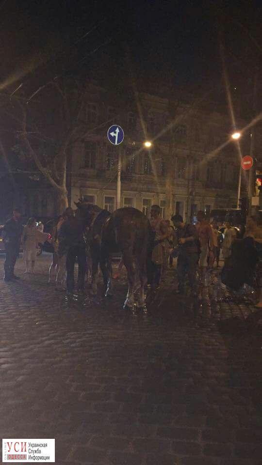 кінь зомлів в Одесі_2