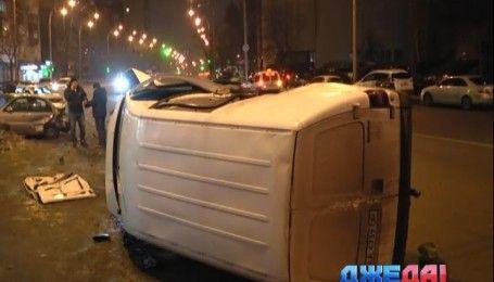 Пьяный водитель совершил масштабную аварию в столице