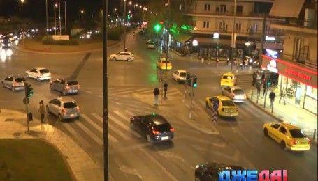 Ситуация на дорогах Афин в часы пик