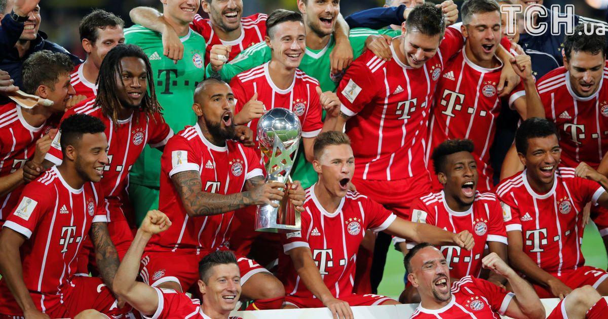 """""""Бавария"""" победила """"Боруссию"""" в Суперкубке Германии-2017 @ Reuters"""