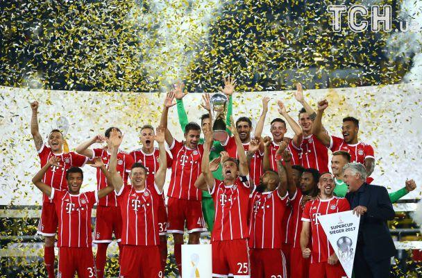 """""""Баварія"""" взяла рекордний Суперкубок Німеччини, обігравши """"Боруссію"""" по пенальті"""