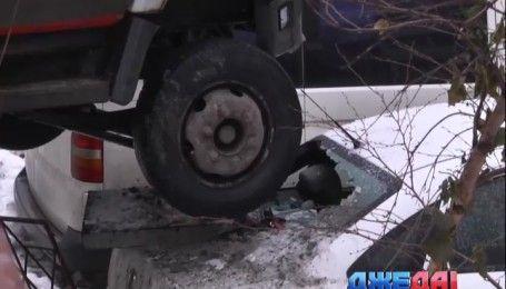 Дождь превратил дороги Украины в каток