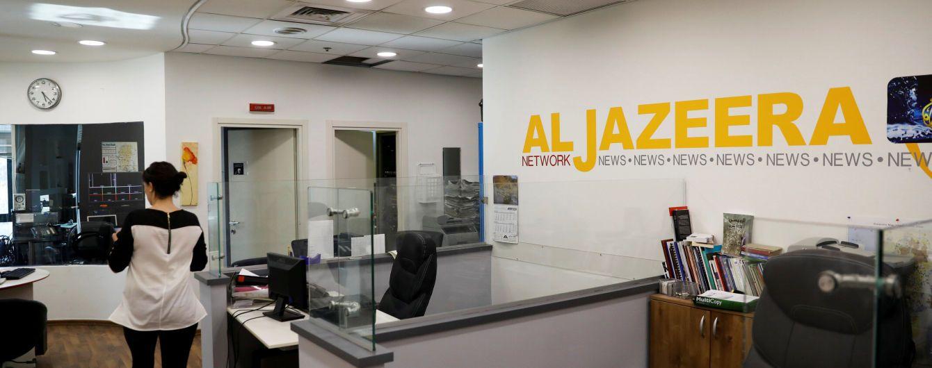 Власти Израиля решили закрыть офисы Al Jazeera в Иерусалиме