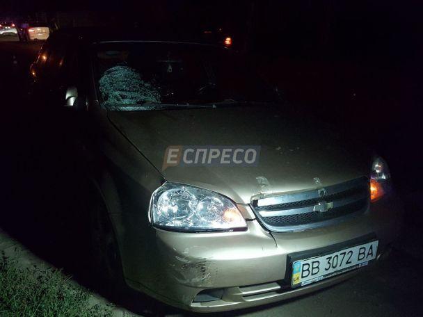 НаОсокорках уКиєві п'яний водій збив двох дітей