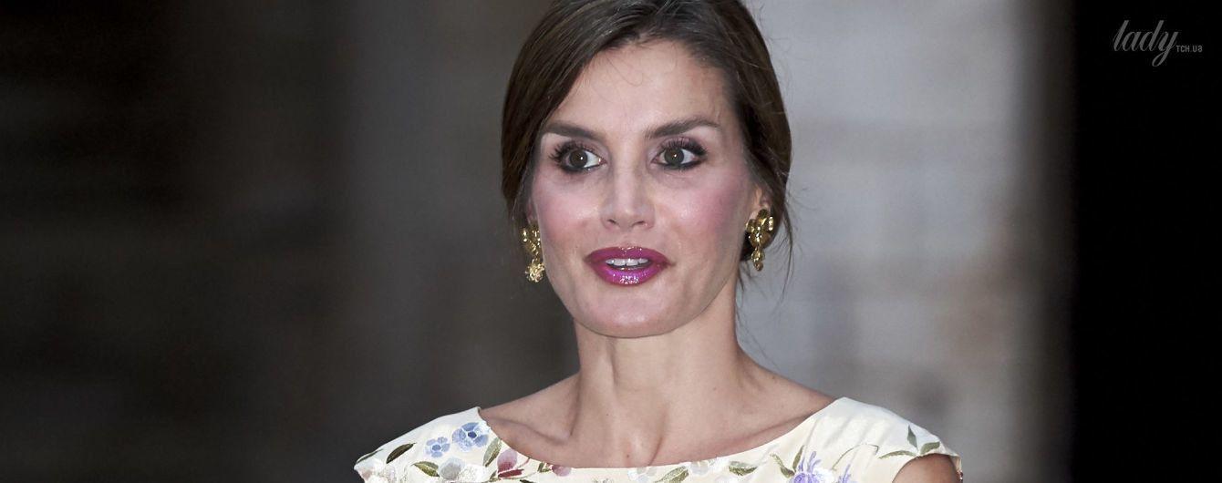 Затмила королеву Софию: королева Летиция вышла в свет в красивом наряде