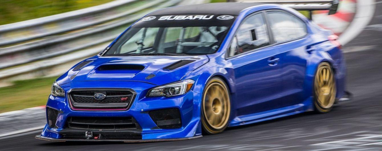 Subaru опубликовала видеоролик, посвященный рекорду WRX STI на Нюрбургринге