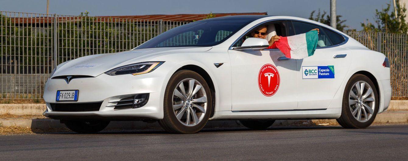 Tesla Model S удалось проехать более 1000 км на одном заряде