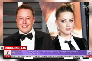 Всесвітньо відомий винахідник Ілон Маск розійшовся з актрисою Ембер Херд
