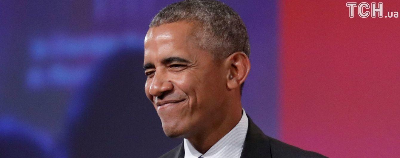 Песенный хит от Обамы и подборка фотожаб со смельчаком Макроном. Тренды Сети