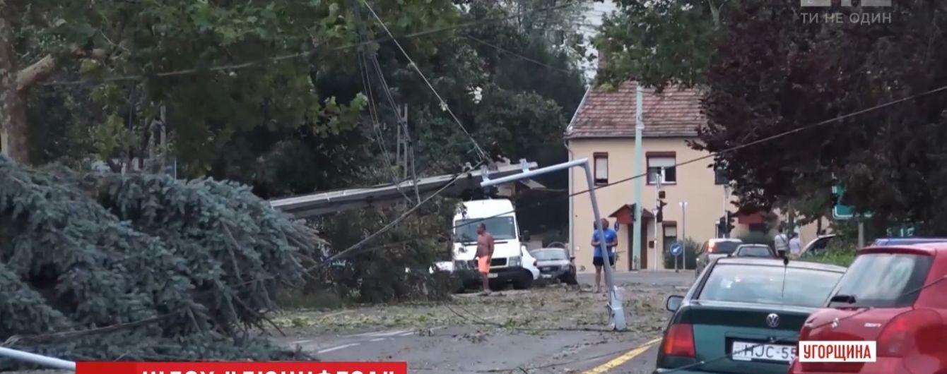 """Хуже """"Люцифера"""": после жаркого циклона Европу атаковал мощный шторм"""
