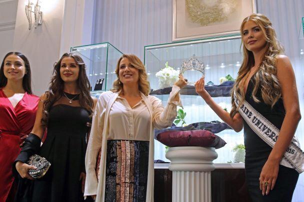 В Киеве показали очень ценную корону для Мисс Украина-Вселенная