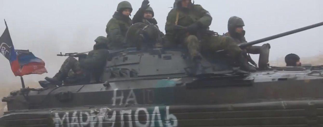 На Донбассе перевернулась и взорвалась БМП боевиков, есть погибшие - разведка