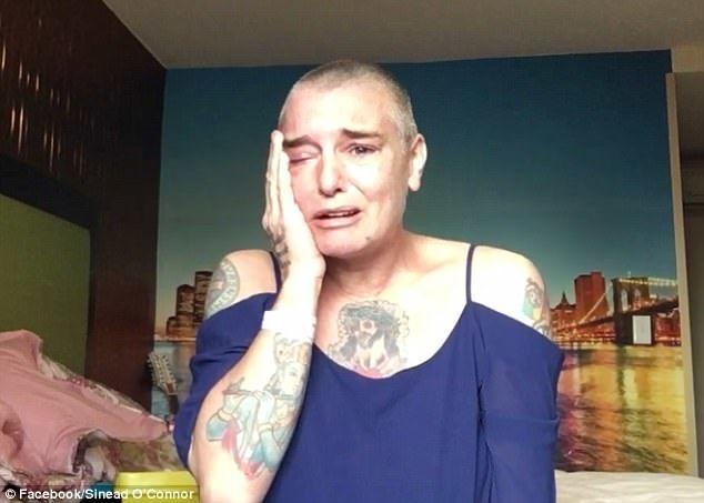 Шинейд О'Коннор поведала, что желает покончить ссобой
