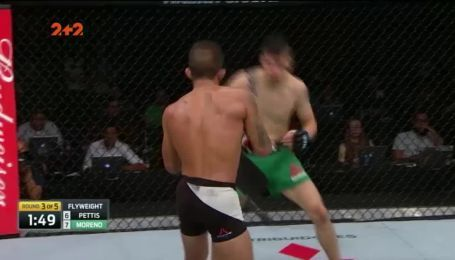 UFC. Серхіо Петтіс – Брендон Морено. Відео бою