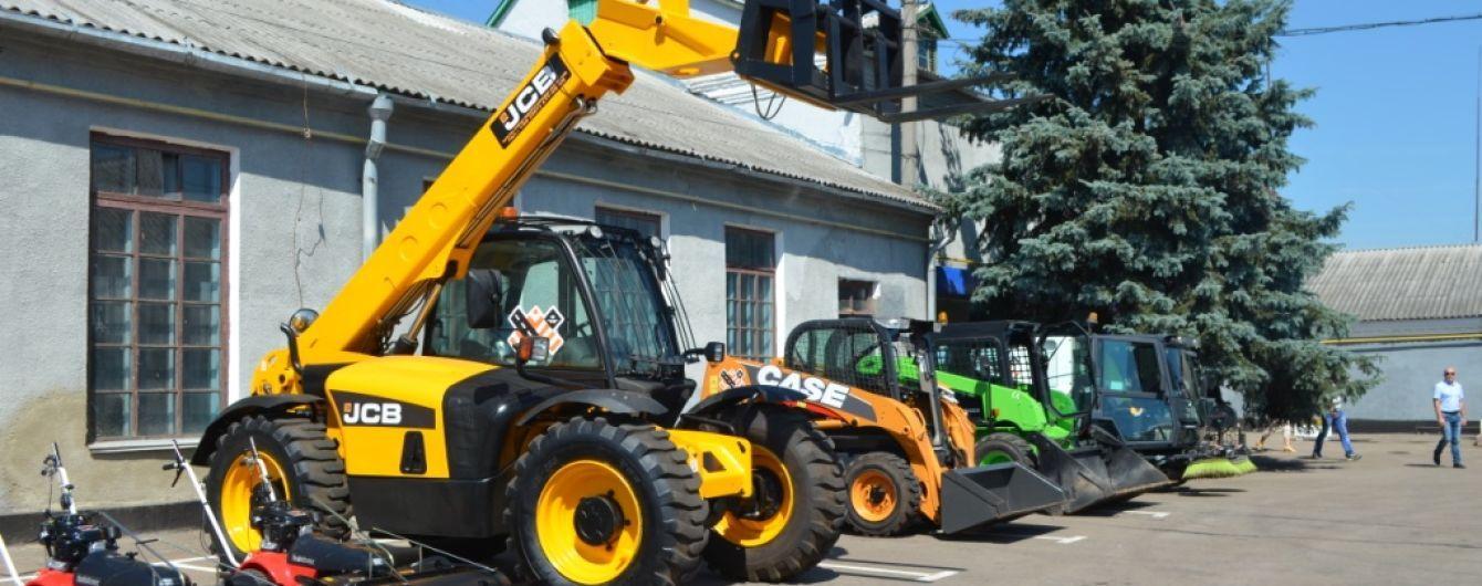 Житомир закупил современную коммунальную технику