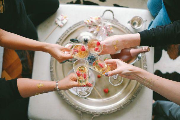 Невеста Александра Скичко показала, как отгуляла девичник