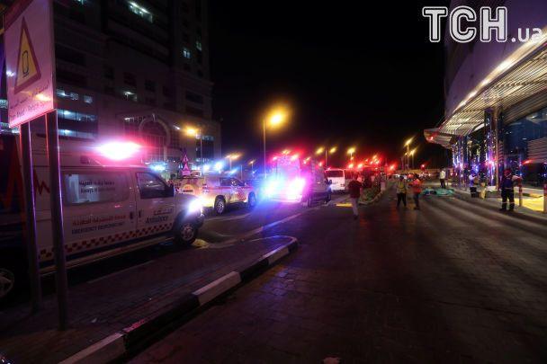 У Дубаї загасили сильну пожежу в Torch Tower