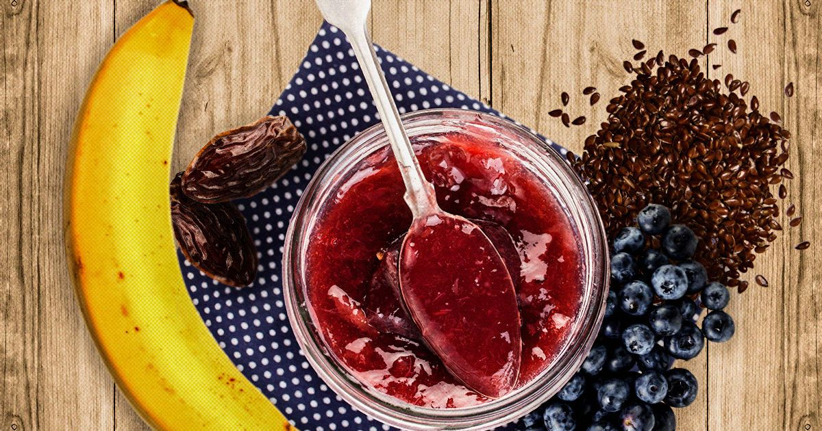 Желе з ягід і насіння для міцного здоров'я