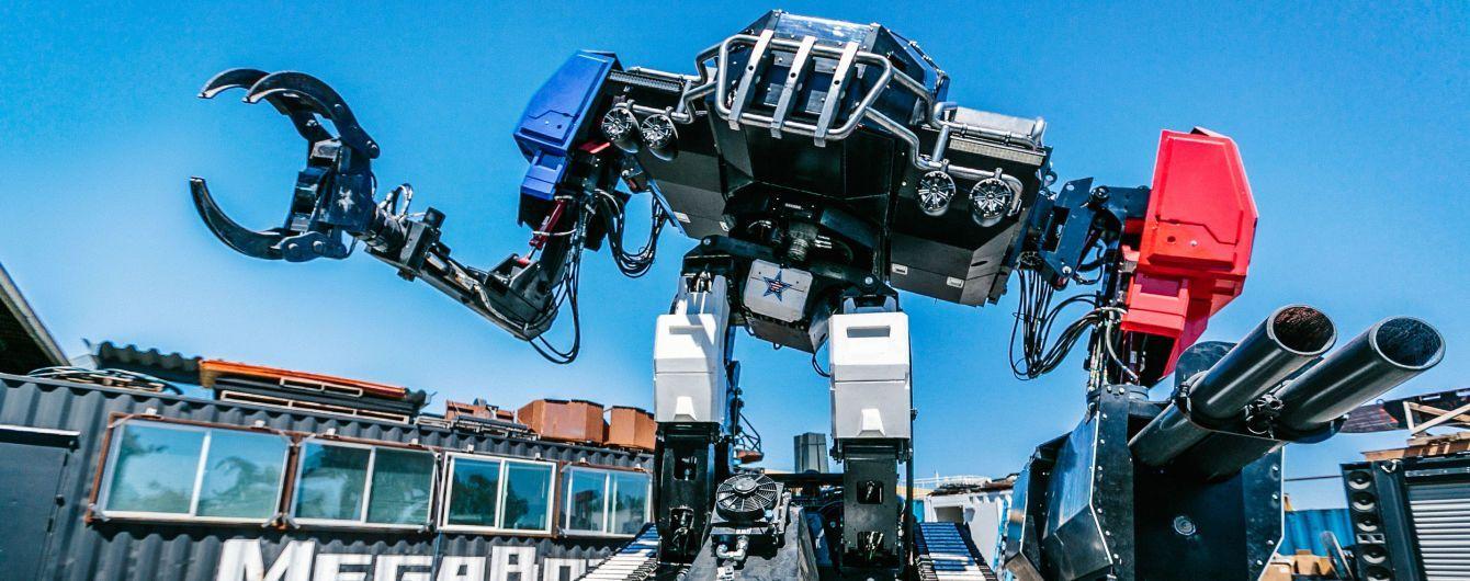 Американцы готовы к битве гигантских роботов