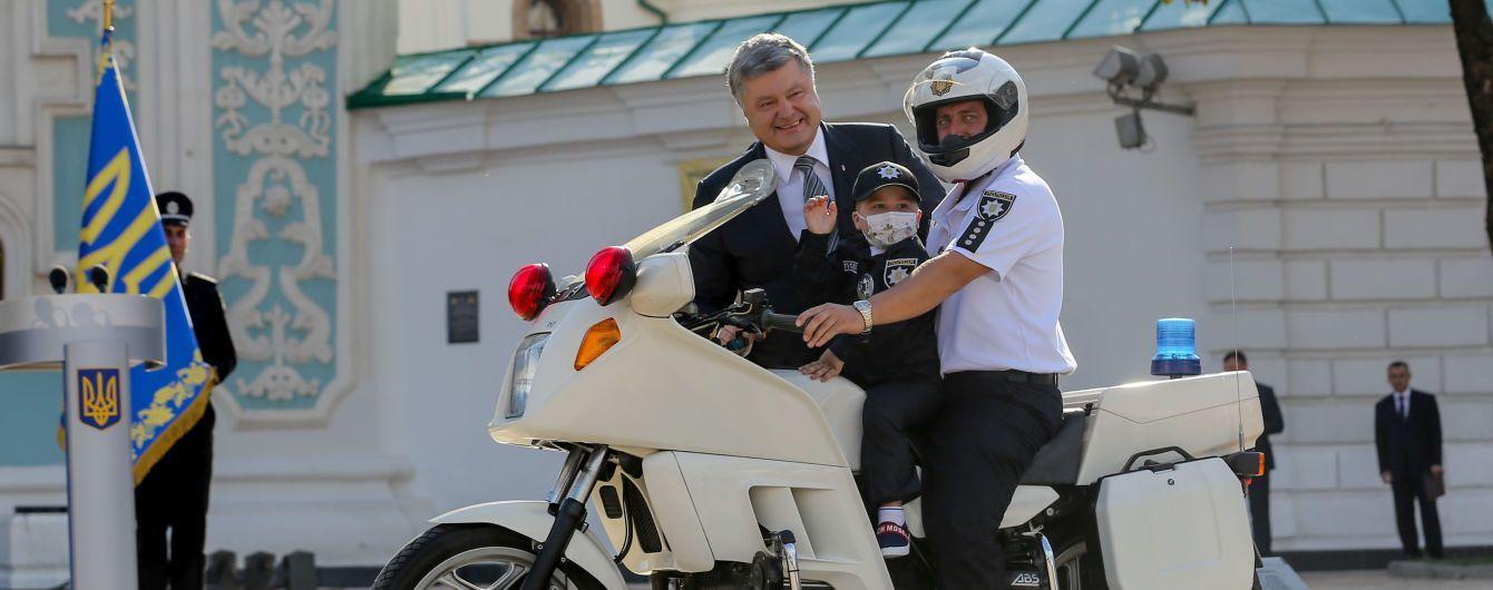 Хворому на рак хлопчику, який мріє стати поліцейським, правоохоронці Чернігівщини зібрали кошти на лікування