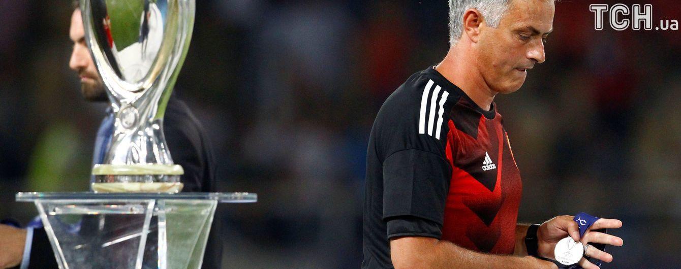 Моуринью отдал ребенку медаль Суперкубка УЕФА : для него это будет незабываемо