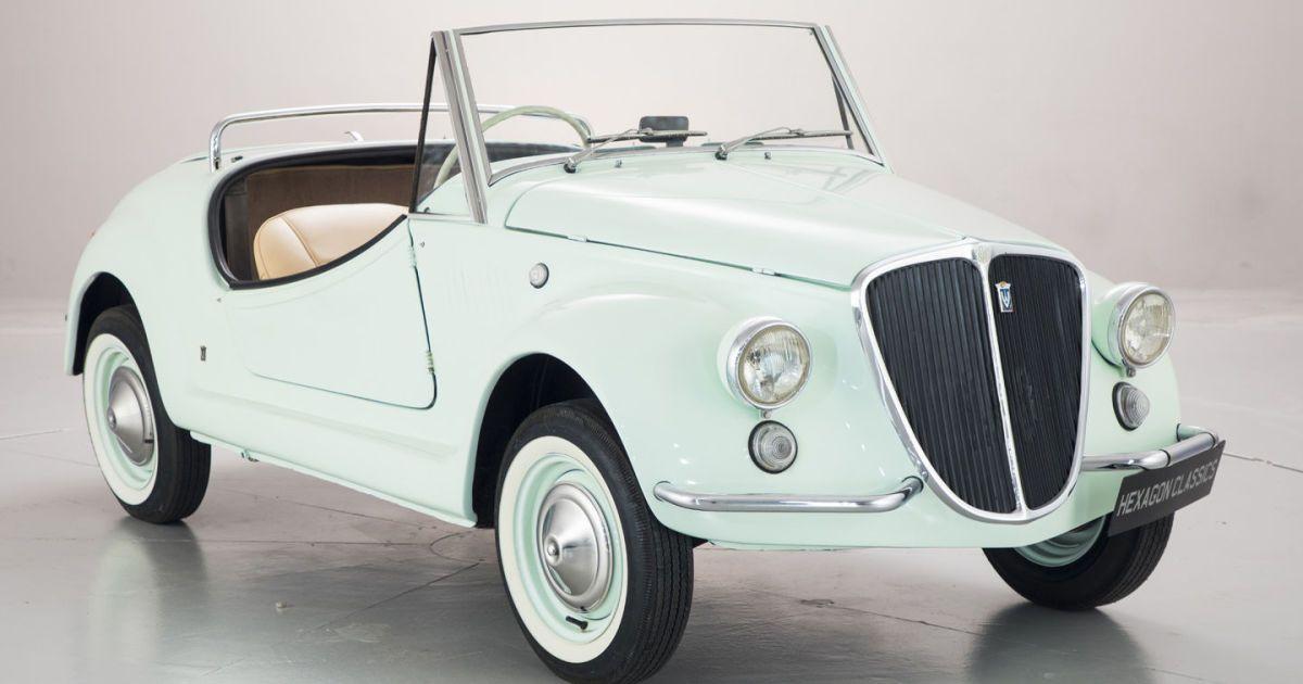 Очень редкий Fiat 500 Gamine выставлен на продажу