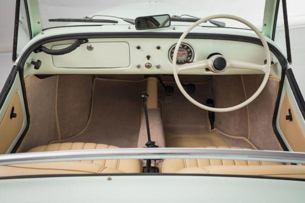 Редкий Fiat 500 Gamine выставлен на продажу