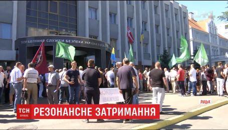 У Луцьку сотні людей повстали проти затримання громадського активіста