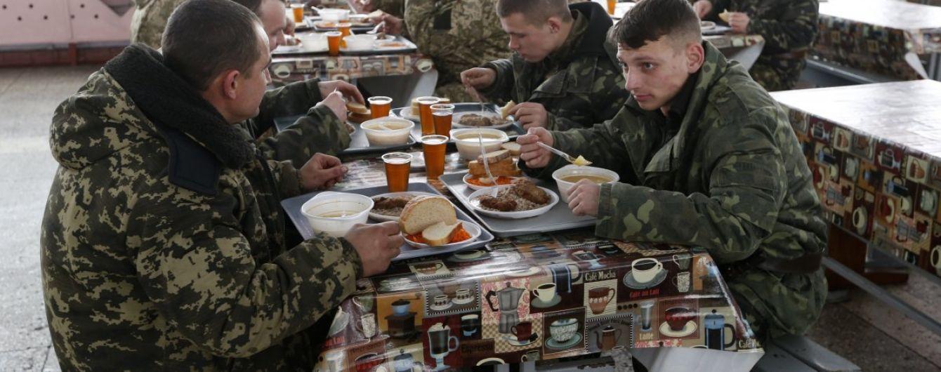 Минобороны оштрафовало поставщиков некачественных продуктов для военных почти на 3 млн грн