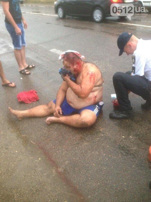 Под Николаевом произошла стрельба, есть раненые