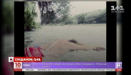 Житель Мюнхена плавает на работу