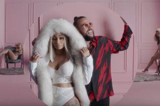 После разрыва с Кардашяном Блэк Чайна в нижнем белье снялась в клипе рэпера