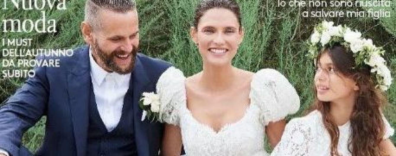 В платье мечты от Dolce & Gabbana: Бьянка Балти поделилась новым свадебным снимком