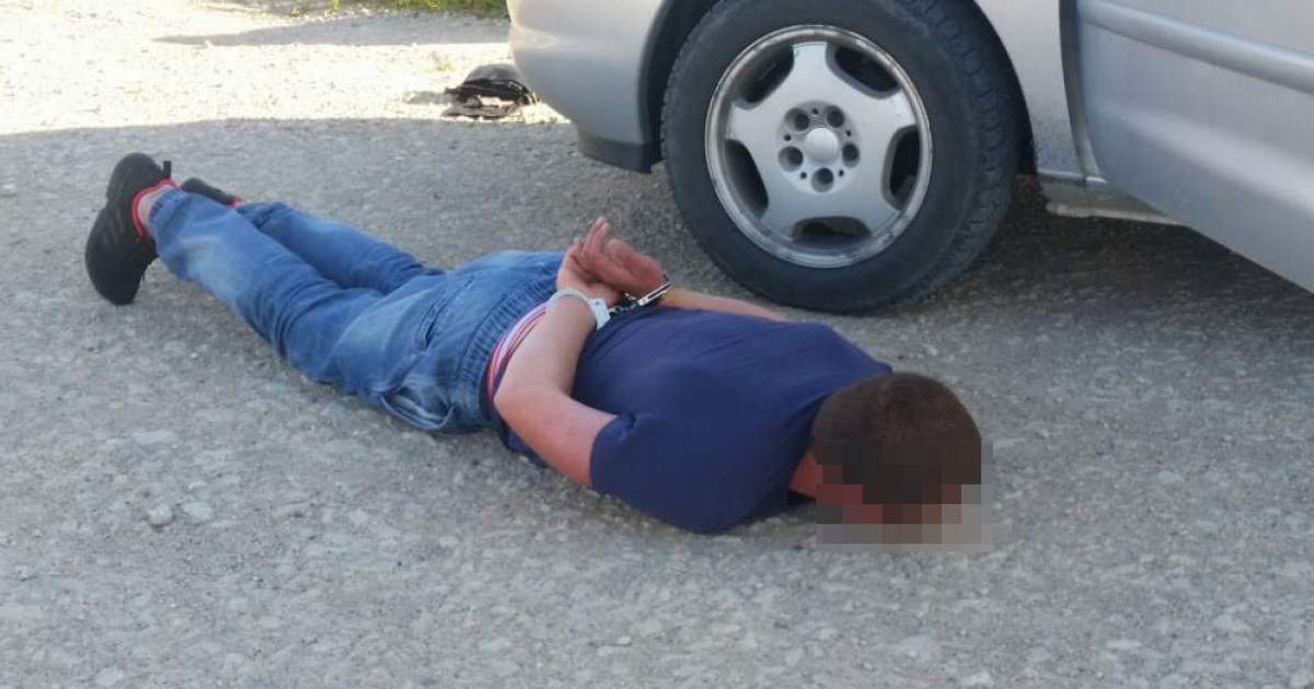 Зловмисників затримали силовики @ Служба охорони державного кордону Литви
